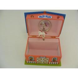 Detská šperkovnica domček