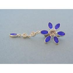 Piercing kvet zirkóny chirurgická oceľ VO294