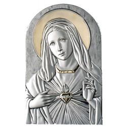 Strieobrný obraz Panna Mária pozláteny D05.2599.57OL