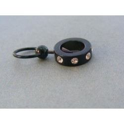 Piercing šperkárska hmota krištáliky swarovského VO358