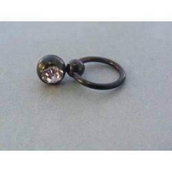 Piercing šperkárska hmota krištálik VO265