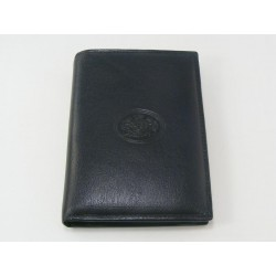 Pánska peňaženka kožená čierna VTONY