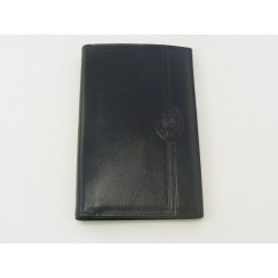 Pánka peňaženka kožena čierna farba VTONY1