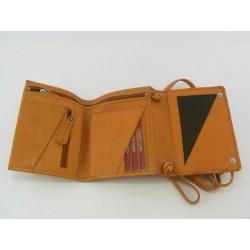 Dámska peňaženka kožená slabo hnedá VTATRAWOOD