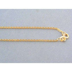 Zlatá retiazka žlté zlato tvorená z očiek DR495252Z