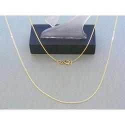 Zlatá retiazka žlté zlato vzor pílka DR50179Z