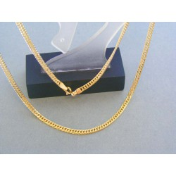 Zlatá retiazka žlté zlato vzor pancier VR45488B