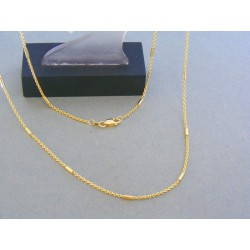 Zlatá retiazka zaujímava žlté zlato VR555500Z