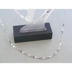 Zlatá retiazka dámska biele zlato VR43289B