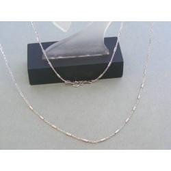 Zlatá retiazka dámska biele zlato zdobená VR505285B