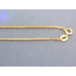 Zlatá retiazka žlté zlato pospájane male očká VR505179Z