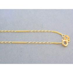 Zlatá retiazka žlté zlato male očká VR455176Z