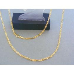 Zlatá retiazka žlté zlato vzor singapur VR56239Z