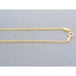 Zlatá retiazka žlté zlato vzor pancier DR45112Z