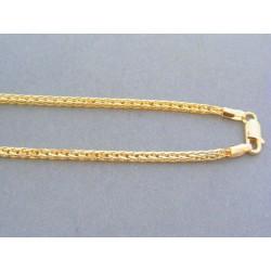 Zlatá retiazka žlté zlato zaujímavy vzor DR50507Z