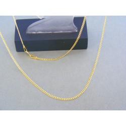 Zlatá retiazka žlté zlato jemny vzor DR50129Z