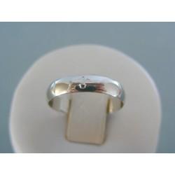 Zlatý prsteň ruženec biele zlato DP55197B