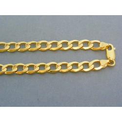 Zlatá retiazka žlté zlato vzor pancier DR551256Z