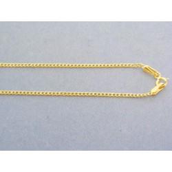 Zlatá retiazka okrúhle očká žlté zlato DR50129Z/1