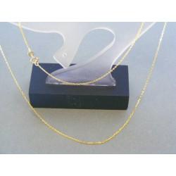 Zlatá retiazka žlté zlato jemná pílka DR42109Z