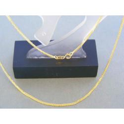 Zlatá retiazka žlté zlato pekný vzor  DR42216Z