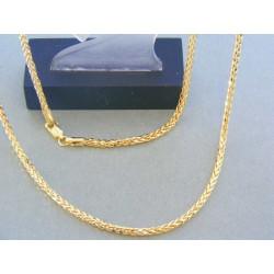 Zlatá retiazka žlté zlato zaujímavy vzor VR55802Z