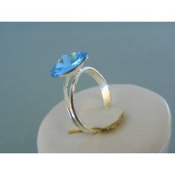 Postriebrený dámsky prsteň swarovskí kameň VPS54216