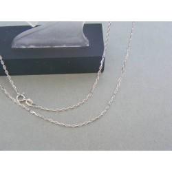 Zlatá retiazka biele zlato ručný vzor VR50252B