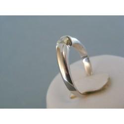 Zlatý dámsky prsteň biele zlato diamant VP62436B 14 karátov 585/1000 4.36g