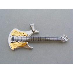 Prívesok ch. oceľ gitara VIO1158 316L 11.58g