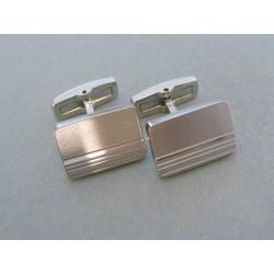 Strieborné manžetové gombíky jemný vzor VMGS1854 925/1000 18.54g