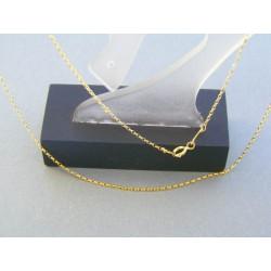 Zlatá retiazka žlté zlato očká VR42116Z 14 karátov 585/1000 1.16g