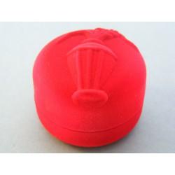 Zamatová krabička znamenia červená farba D295