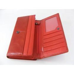 Dámska kožená peňaženka D0601Rosso