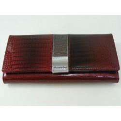 Dámska kožená peňaženka D03-02Bordo