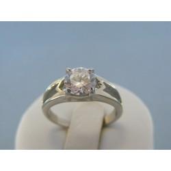 Dámsky prsteň ch. oceľ kamienok DPO57353 316L 3.53g