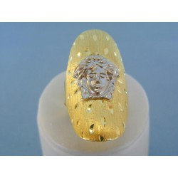 Zlatý dámsky moderný vzor žlté biele zlato VP64421V 14 karátov 585/1000 4.21g