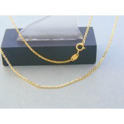 Zlatá retiazka žlté zlato ručný vzor DR42236Z 14 karátov 585/1000 2.36g