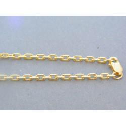 Zlatá retiazka žlté zlato ručný vzor VR5451158Z 14 karátov 585/1000 11.58g