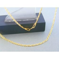 Zlatá retiazka žlté zlato očká DR45217Z 14 karátov 585/1000 2.17g
