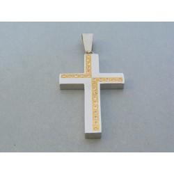 Prívesok krížik ch. oceľ VIKO1596 316L 15.96g