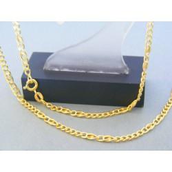 Zlatá retiazka žlté zlato tvorená z očiek VR50547Z 14 karátov 585/1000 5.47g