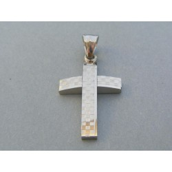 Prívesok krížik ch. oceľ DIKO661