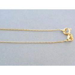 Zlatá dámska retiazka s príveskom kamienky VR45179Z 14 karátov 585/1000 1.79g
