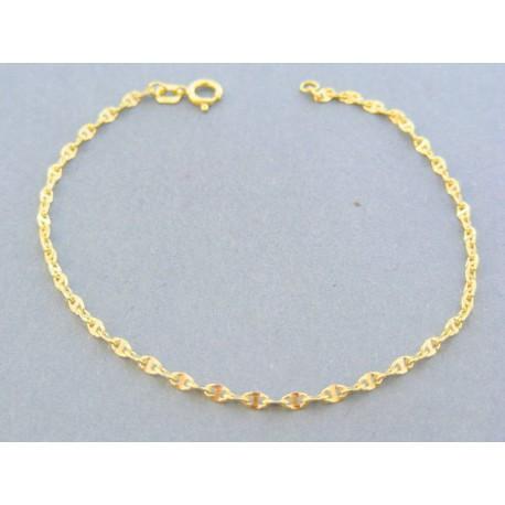 d00870292 Zlatý náramok zdobený žlté zlato