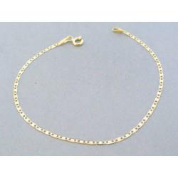 Zlatý náramok platničky žlté zlato DN19104Z 14 karátov 585/1000 1.04g
