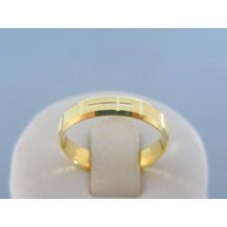 Zlatý prsteň ruženec žlté zlato DP57272Z 14 karátov 585/1000 2.72g