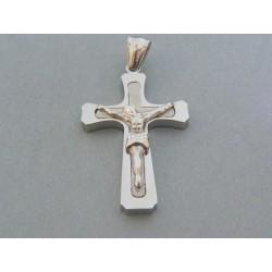 Prívesok ch. oceľ kríž DIKO1047 316L 10.47g