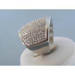 Dámsky prsteň ch. oceľ kamienky swarovského DPO571561 316L 15.61g
