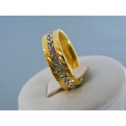 Dámsky prsteň ch. oceľ kamienky DPO55395 316L 3.95g